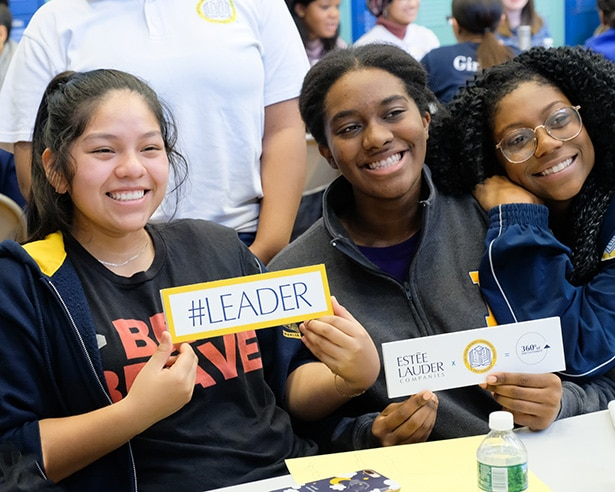 East Harlem Students Share their Vision of Responsible Beauty with ELC  Volunteers – The Estée Lauder Companies Inc.