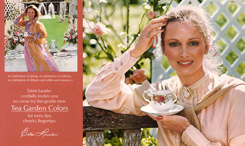 A series of ads are created to launch new seasonal color palettes of Estée  Lauder products for eyes 4a79a3e3d